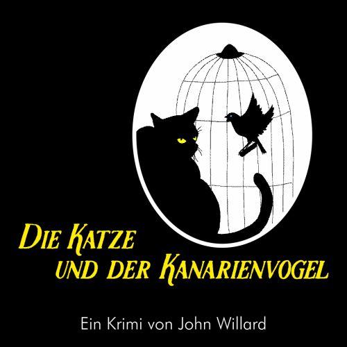 Plakat: Die Katze und der Kanarienvogel