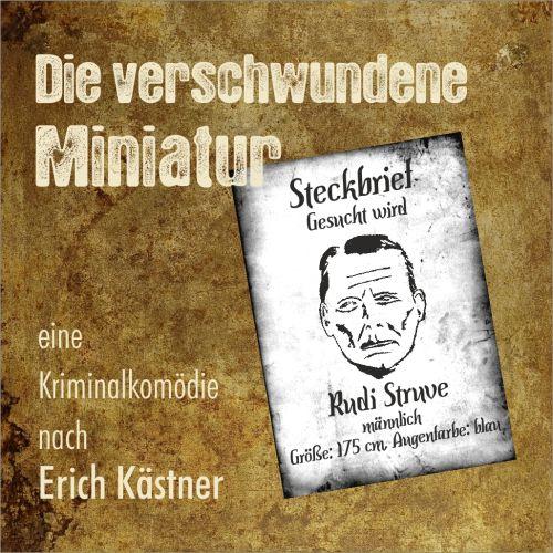 Plakat: Die verschwundene Miniatur