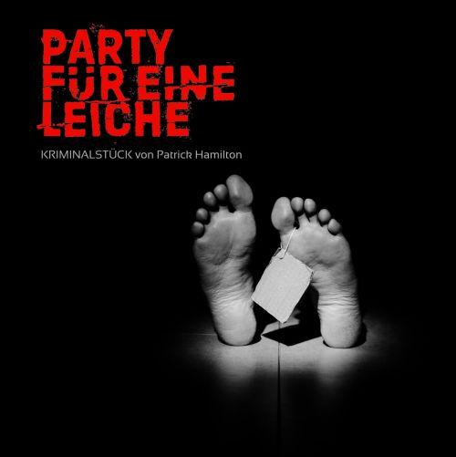 Plakat: Party für eine Leiche