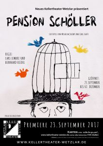 Plakat: Pension Schöller