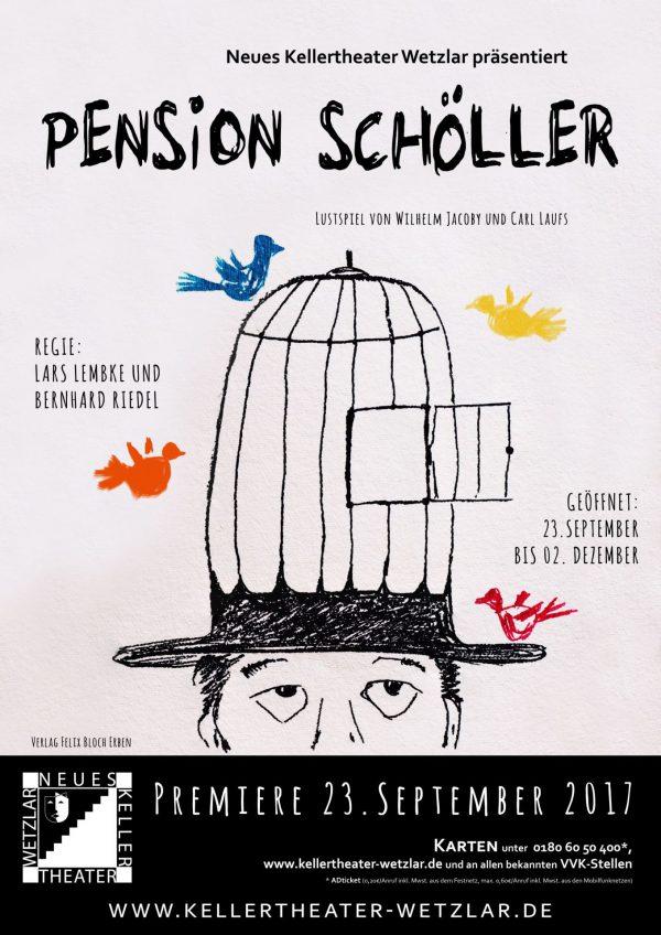 Plakat: Pension Schöller